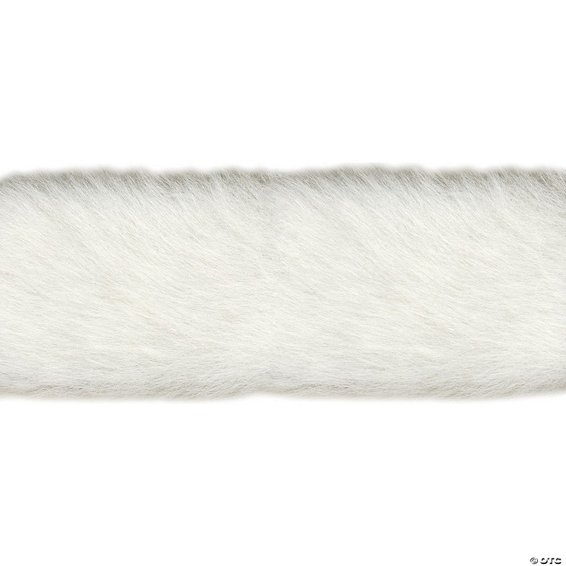 "Simplicity Fur Trim 2""X6 yd-White"