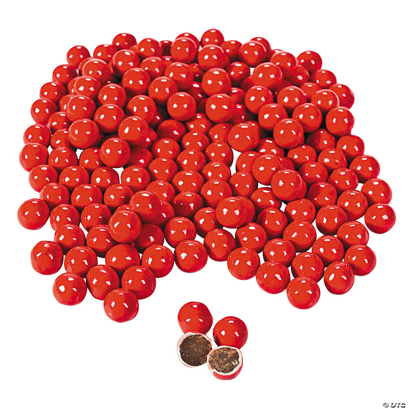 Sixlets<sup>&#174;</sup> Red Chocolate Candy Image Thumbnail