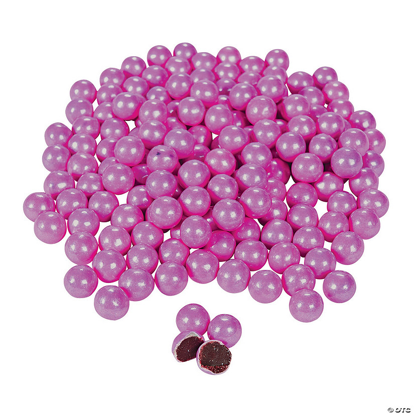 Sixlets<sup>&#174;</sup> Sparkling Bright Pink Chocolate Candy Audio Thumbnail