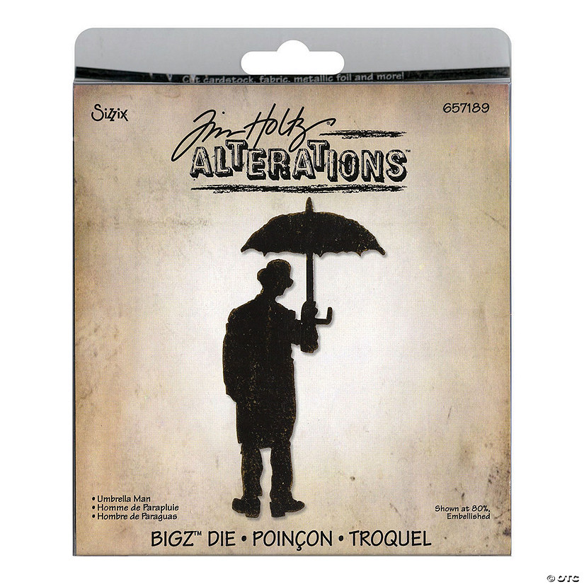 Sizzix Die Tim Holtz - Umbrella Audio Thumbnail