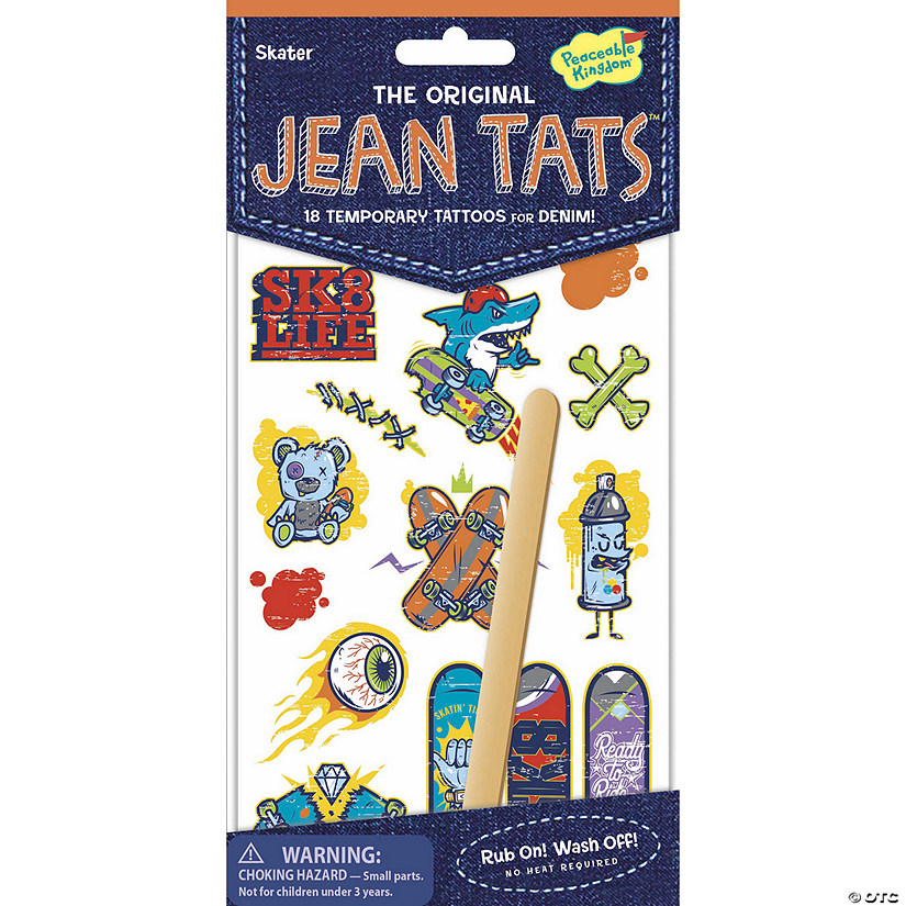 Skater Jean Tats Pack Audio Thumbnail
