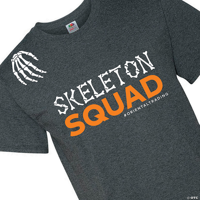 Skeleton Squad Adult's T-Shirt Audio Thumbnail