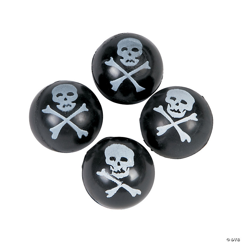 Skull & Crossbones Bouncy Balls Audio Thumbnail