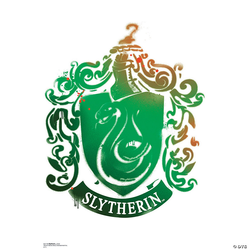 Slytherin Crest - Harry Potter 7 Wall Jammer™ Wall Decal