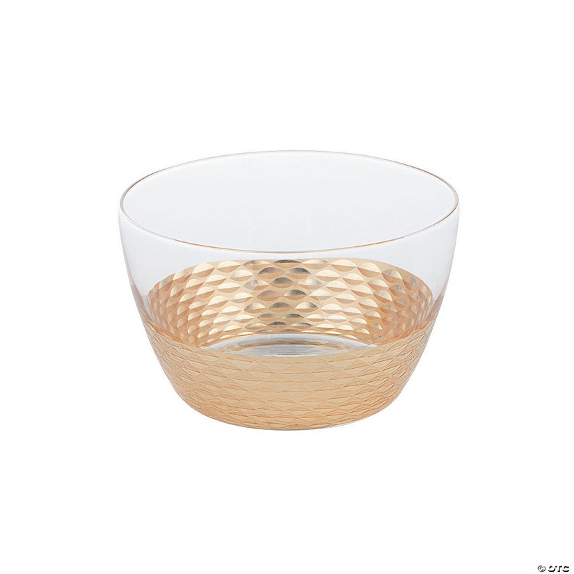 Small Clear Bowl with Gold Texture Base Audio Thumbnail