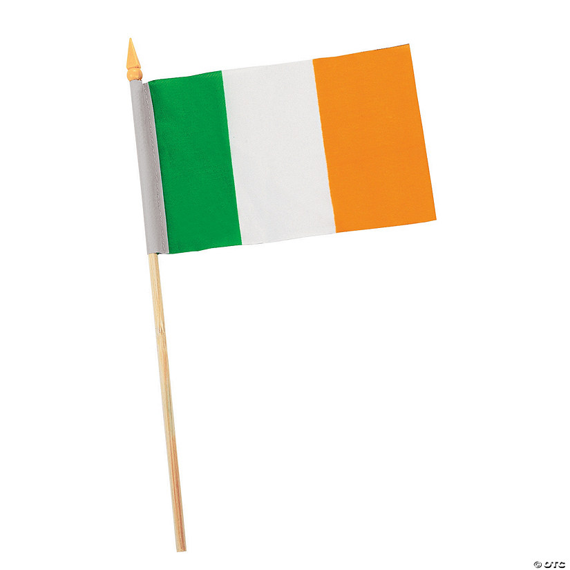"Small Cloth Irish Flags - 6"" x 4"" Image Thumbnail"