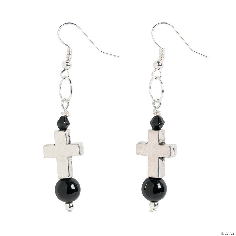 Small Cross Earring Craft Kit