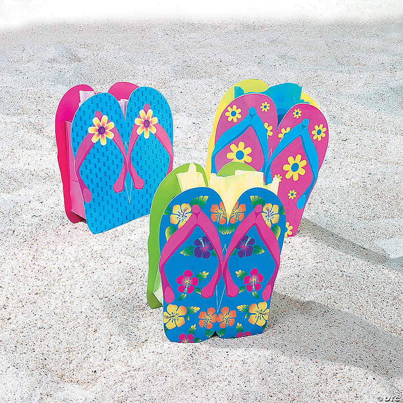 Small Flip Flop Gift Bags