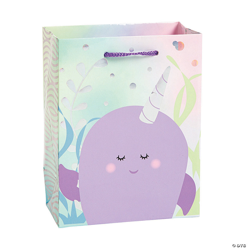Small Narwhal Party Gift Bags Audio Thumbnail