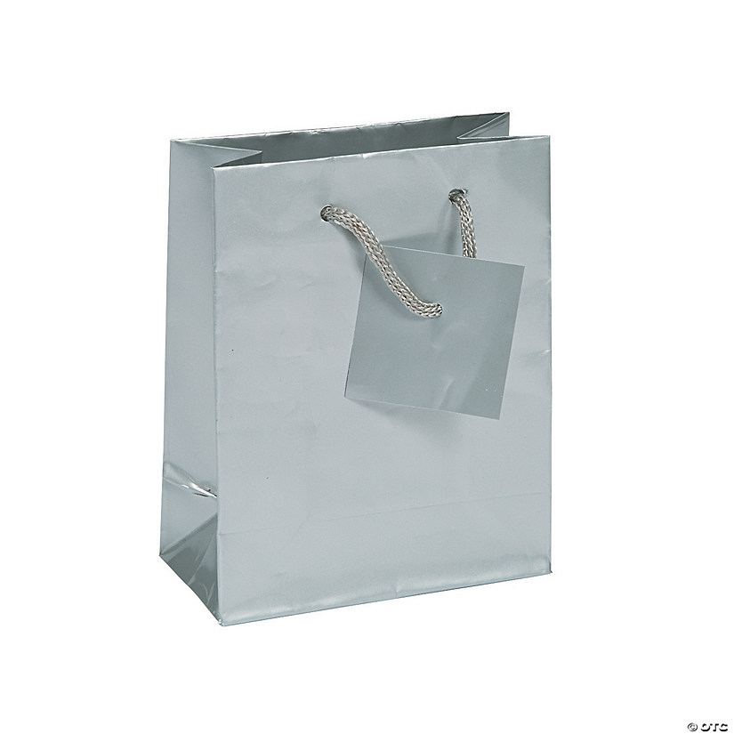 Small Silver Gift Bags with Tags Audio Thumbnail