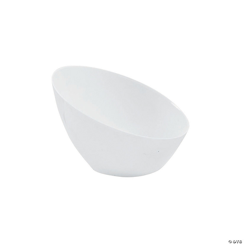 Small White Angle Bowl