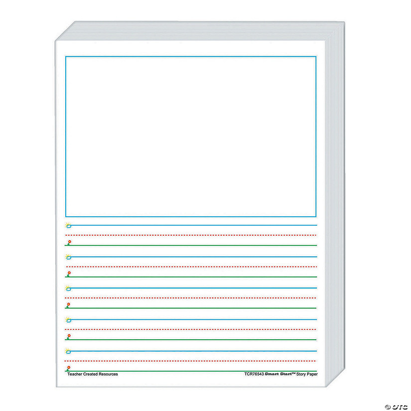 Smart Start 1-2 Story Paper, 360 Sheets Per Pack Audio Thumbnail