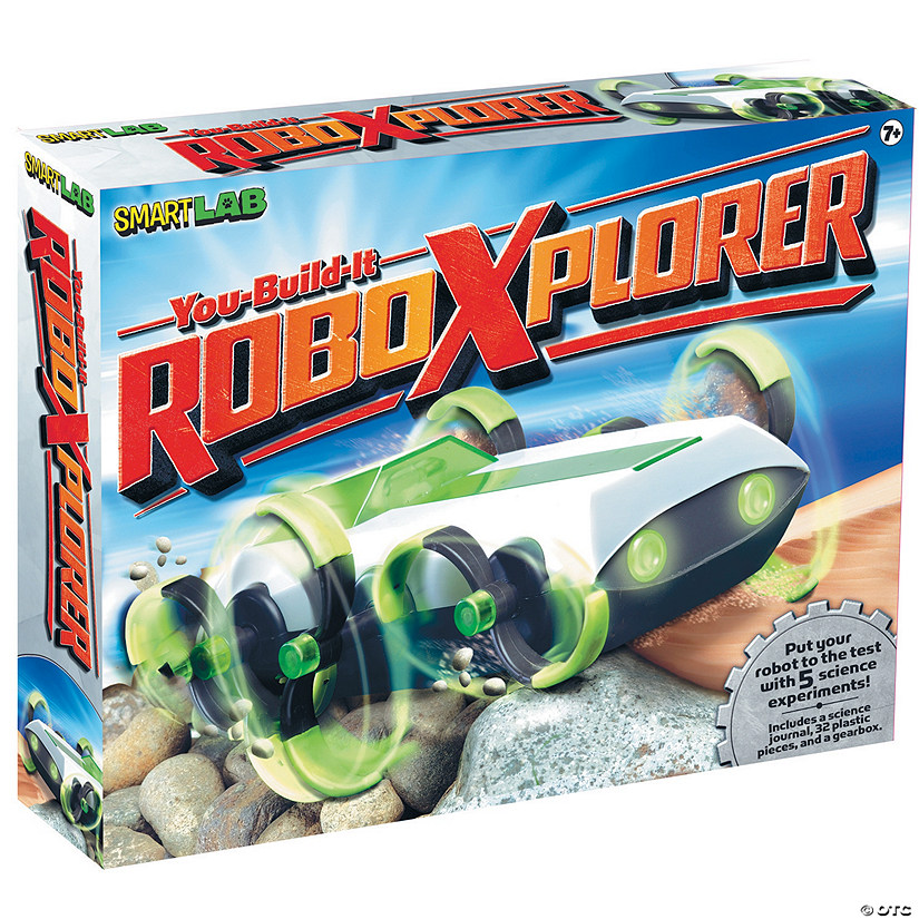 SmartLab Toys You-Build-It Robo Xplorer