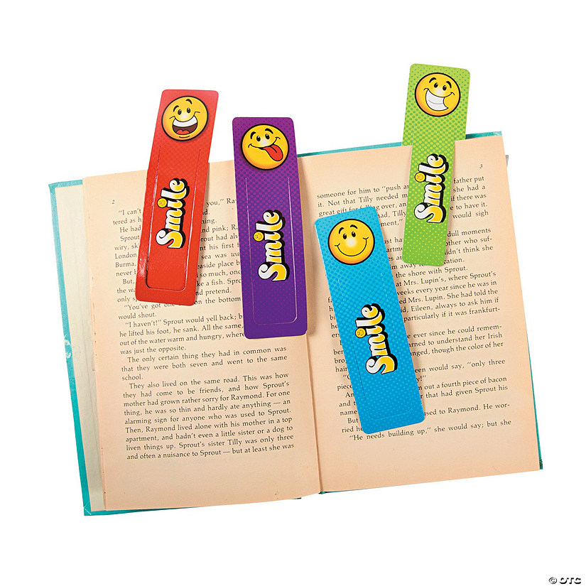 Smile Face Bookmarks Image Thumbnail