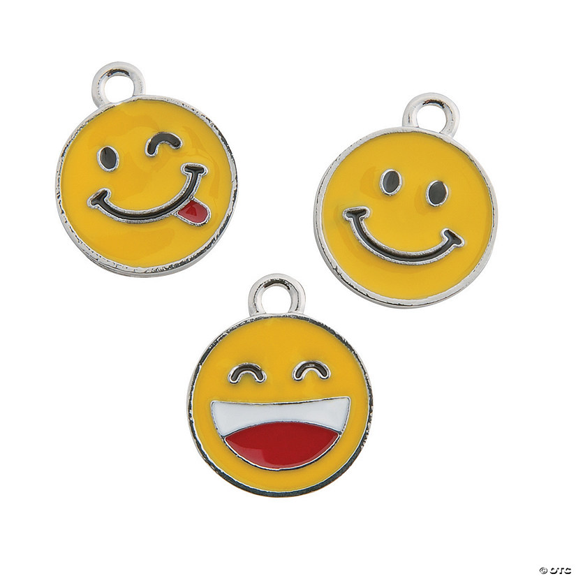 Smile Face Charms - 18mm Audio Thumbnail