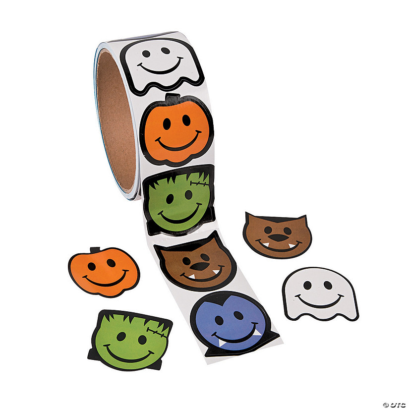 Smile Face Monster Stickers Image Thumbnail