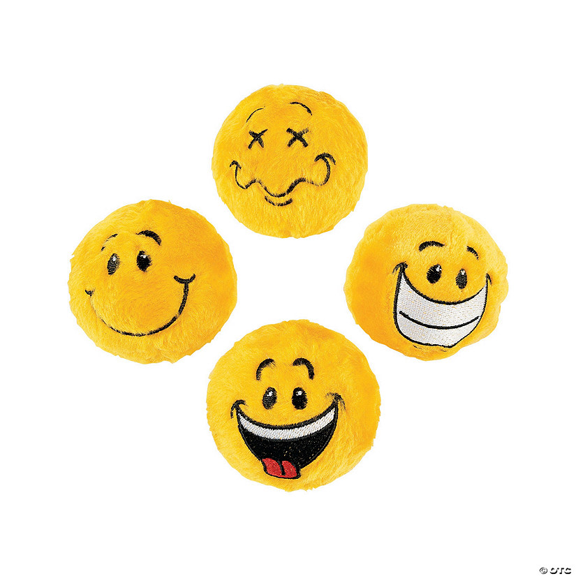 Smile Face Plush Bouncy Ball Assortment Audio Thumbnail