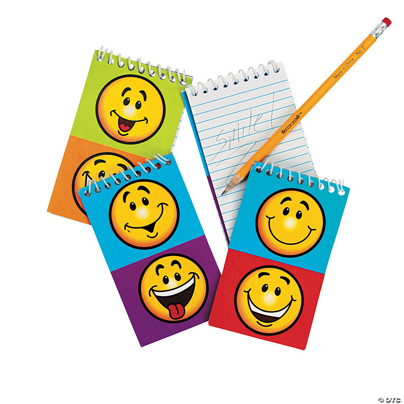 Smile Face Spiral Notepads Audio Thumbnail