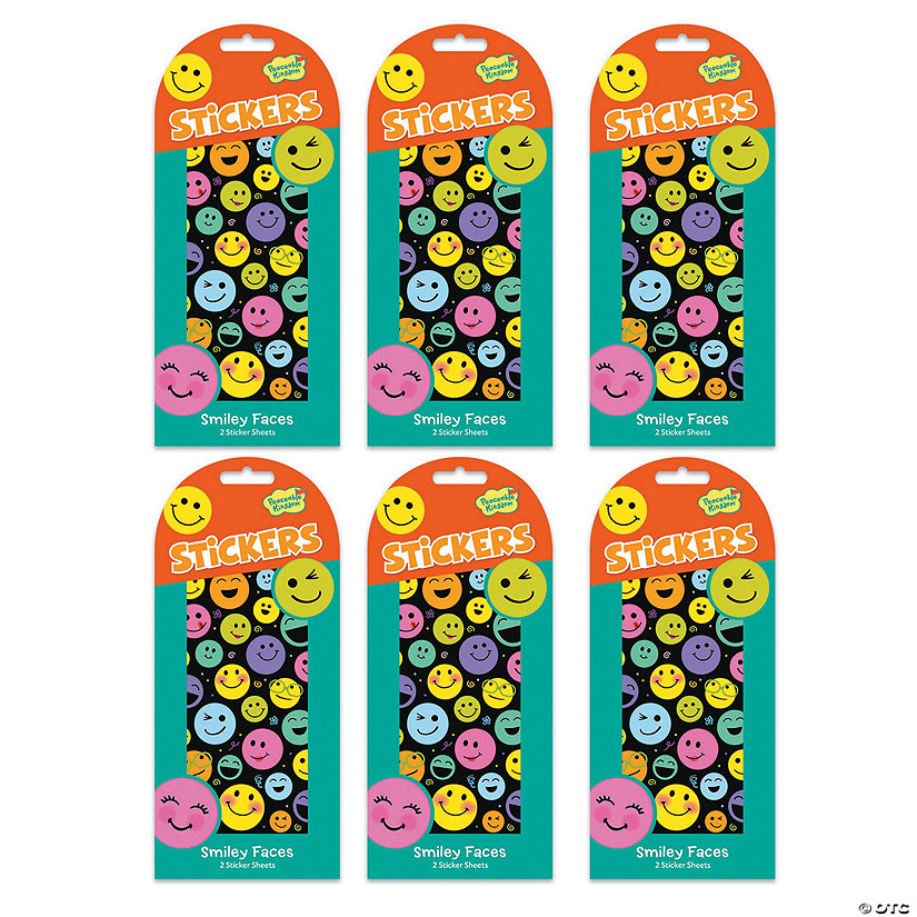 Smiley Face Sticker Set