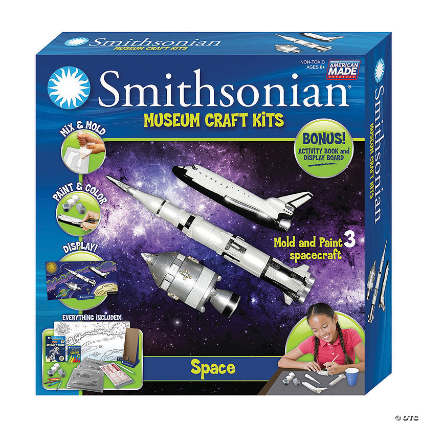 Smithsonian Craft Kit Space Audio Thumbnail