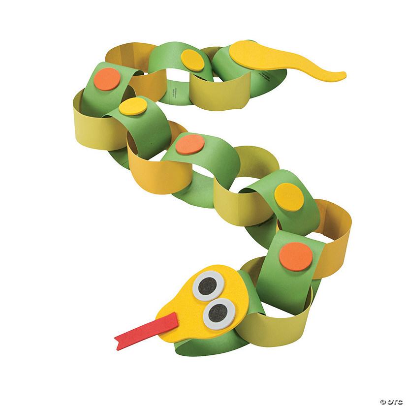 Snake Paper Chain Craft Kit