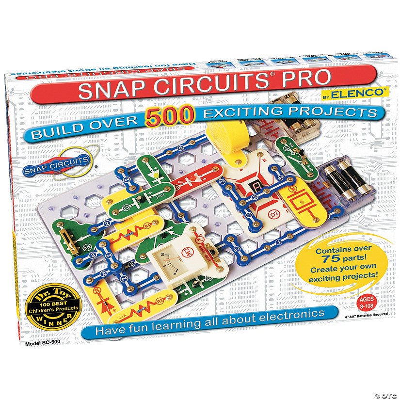 Snap Circuits 500 Audio Thumbnail