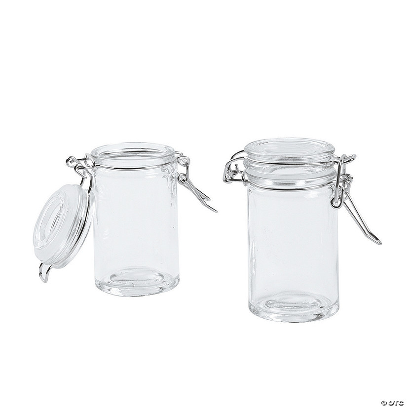 Snap Lid Bottle Favor Jars