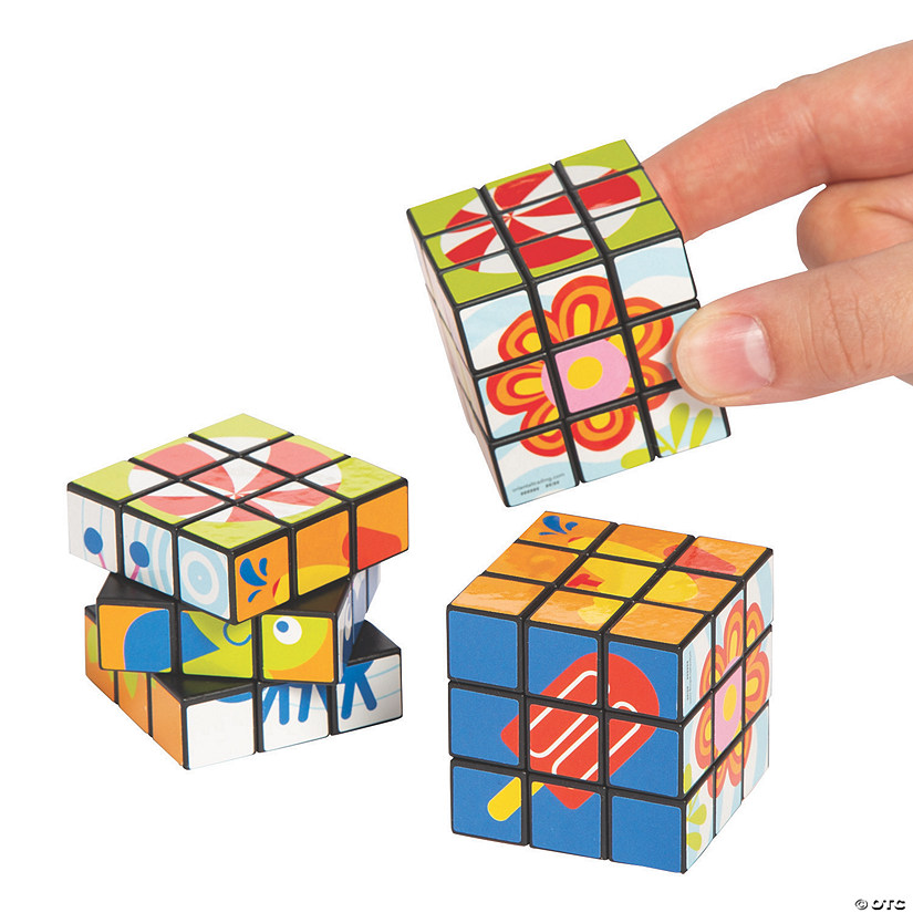 Snappy Spring Puzzle Cubes Image Thumbnail