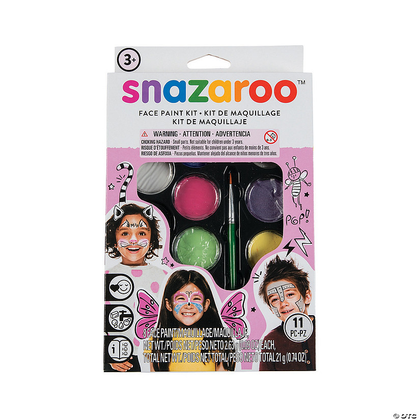 Snazaroo™ Girl's Face Painting Kit Image Thumbnail