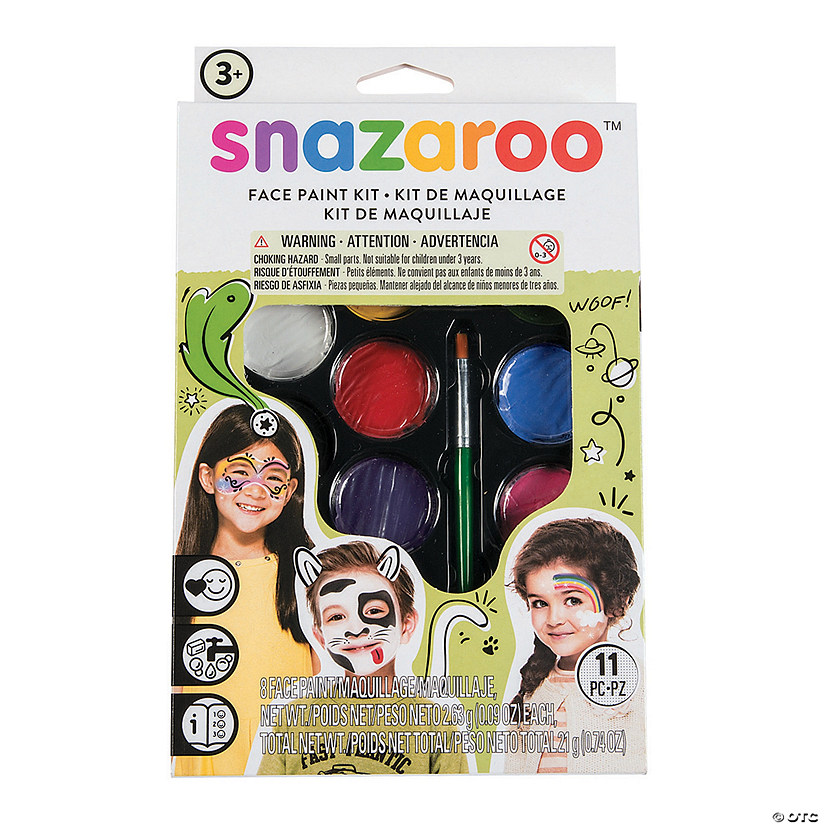 Snazaroo™ Unisex Assorted Colors Face Painting Kit Audio Thumbnail