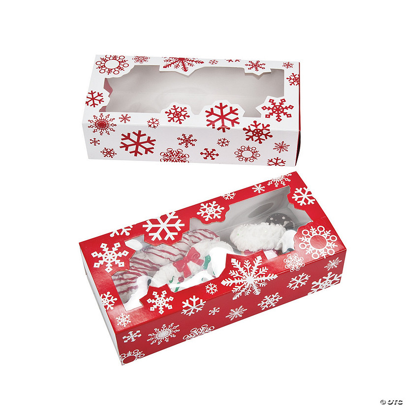 Snowflake Cookie Boxes Audio Thumbnail