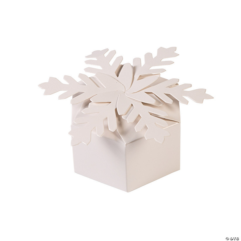 Snowflake Favor Boxes Audio Thumbnail