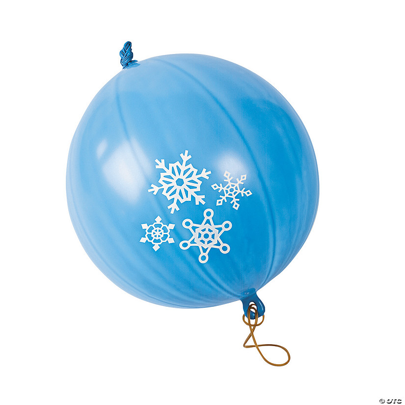 Snowflake Latex Punch Ball Balloons Audio Thumbnail