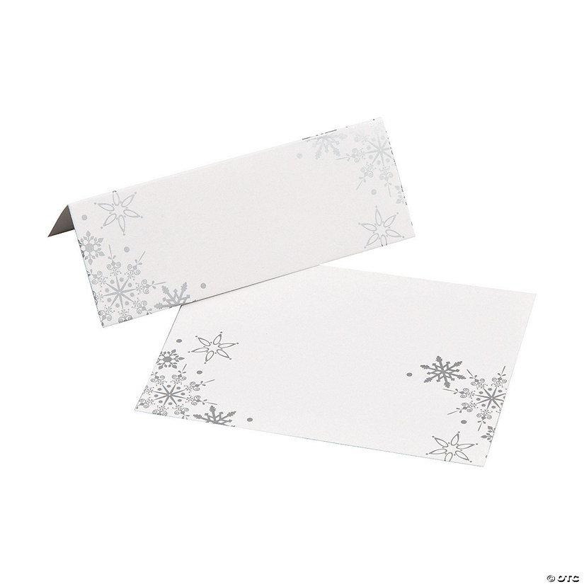 Snowflake Place Cards Audio Thumbnail