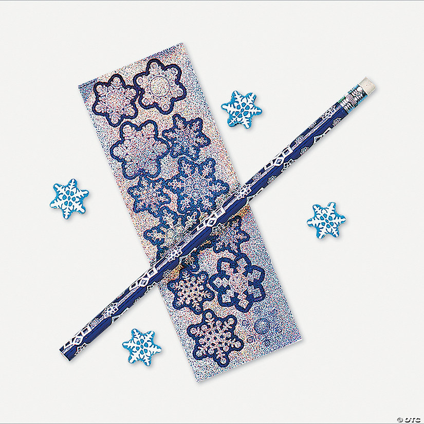 snowflake stationery sets discontinued