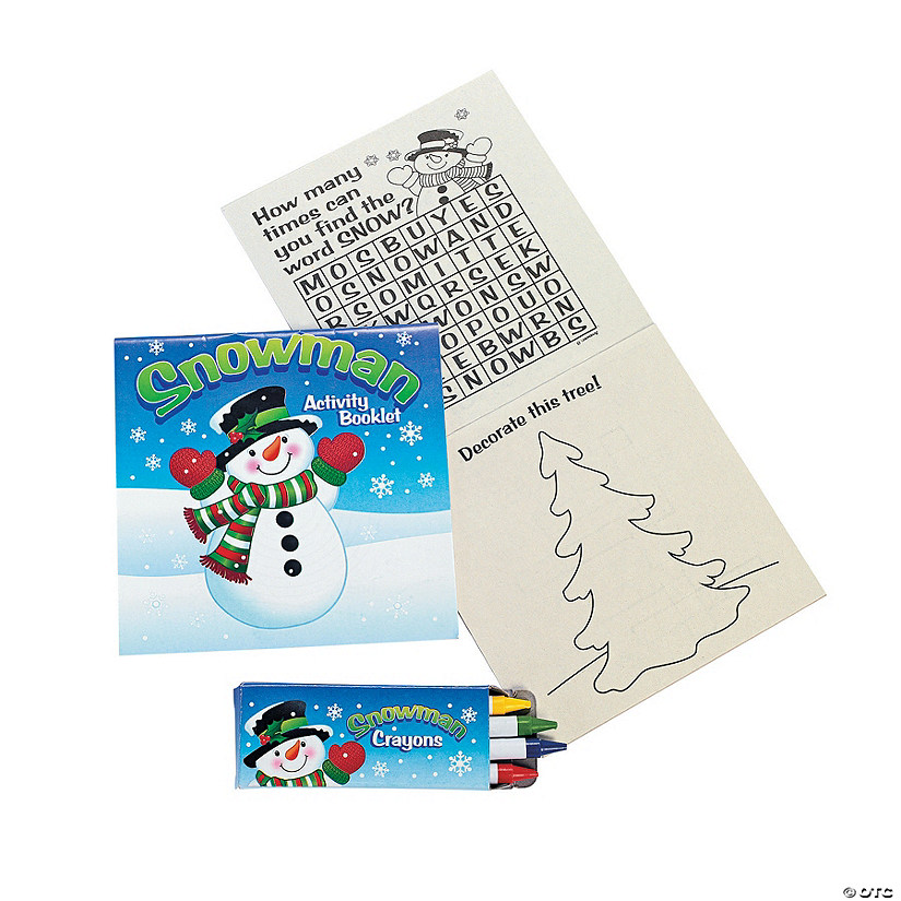 Snowman Activity Sets Audio Thumbnail