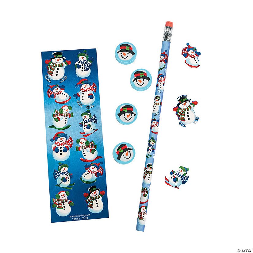 Snowman Stationery Sets Audio Thumbnail