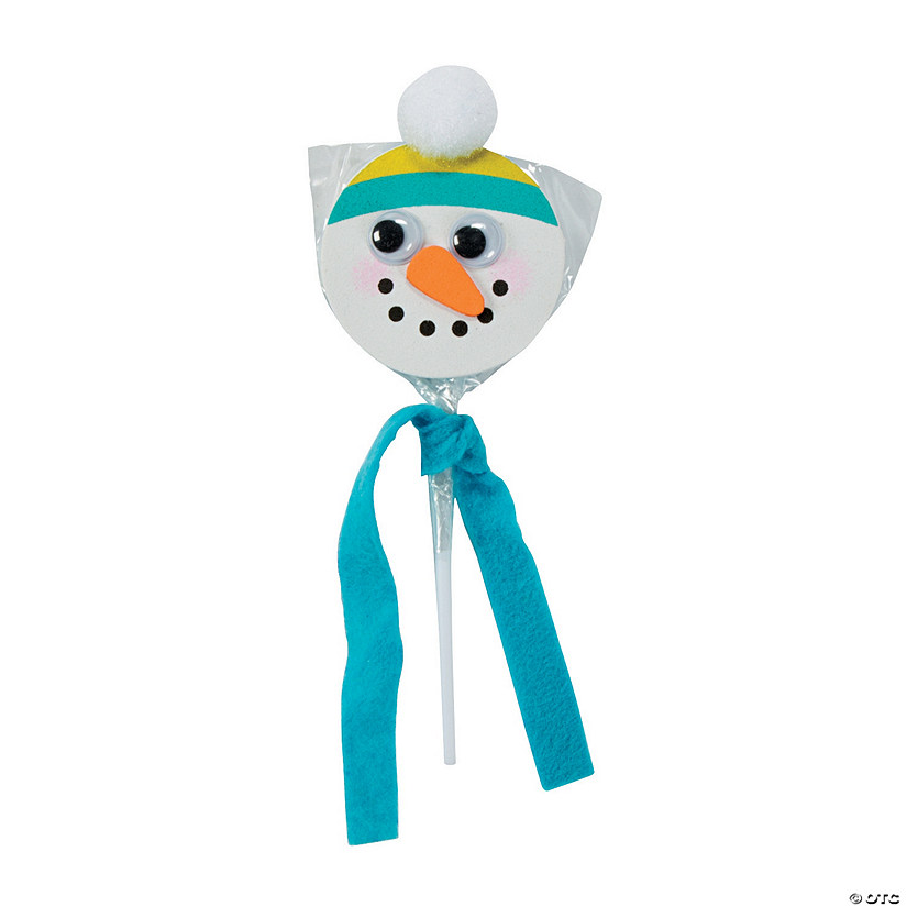 Snowman Swirl Pop Craft Kit - Less than Perfect Audio Thumbnail