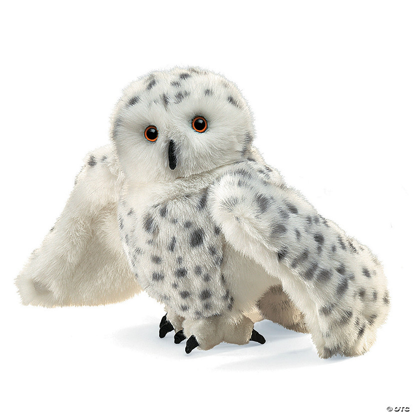 Snowy Owl Puppet Image Thumbnail