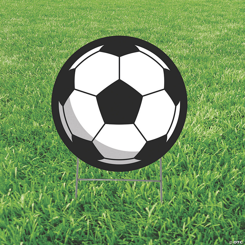Soccer Ball Yard Sign Audio Thumbnail