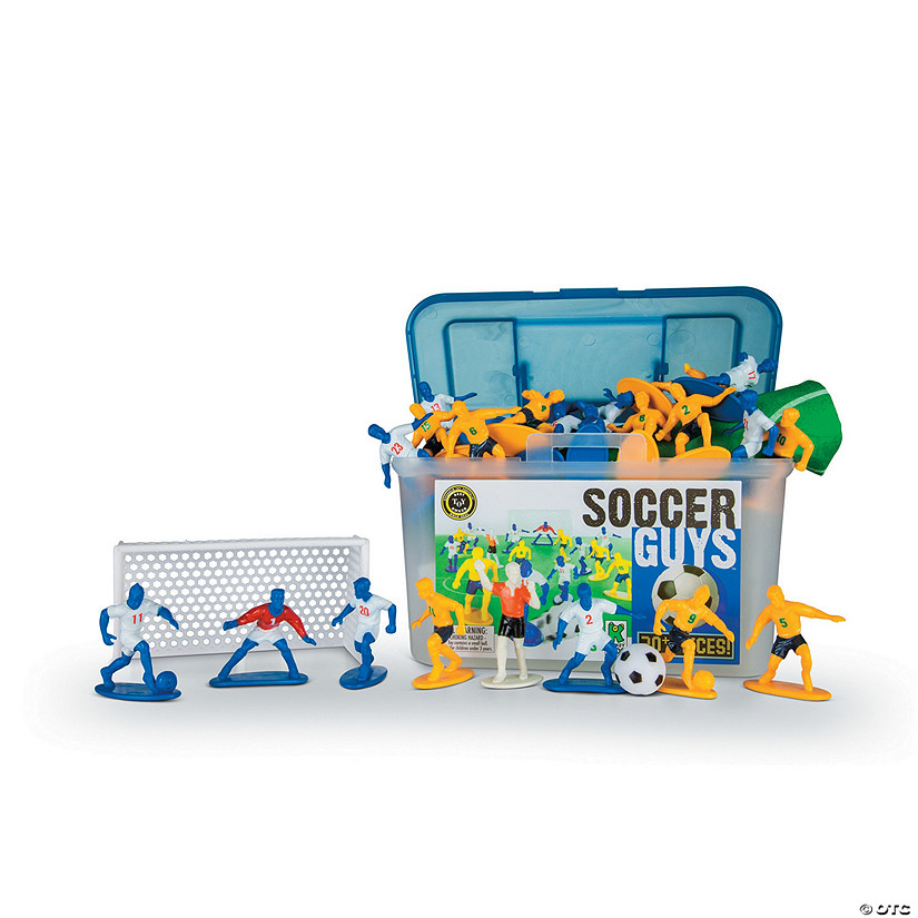 Soccer Guys: Blue & Yellow Action Figures
