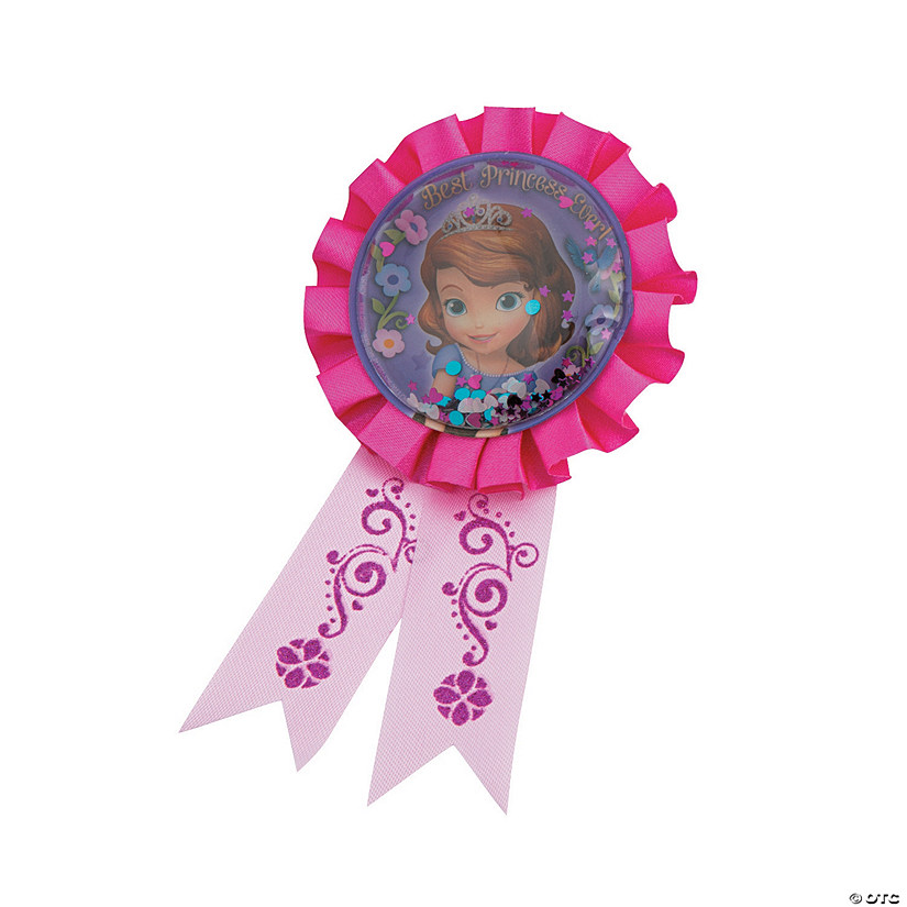 Sofia the First Confetti Pouch Award Ribbon Audio Thumbnail