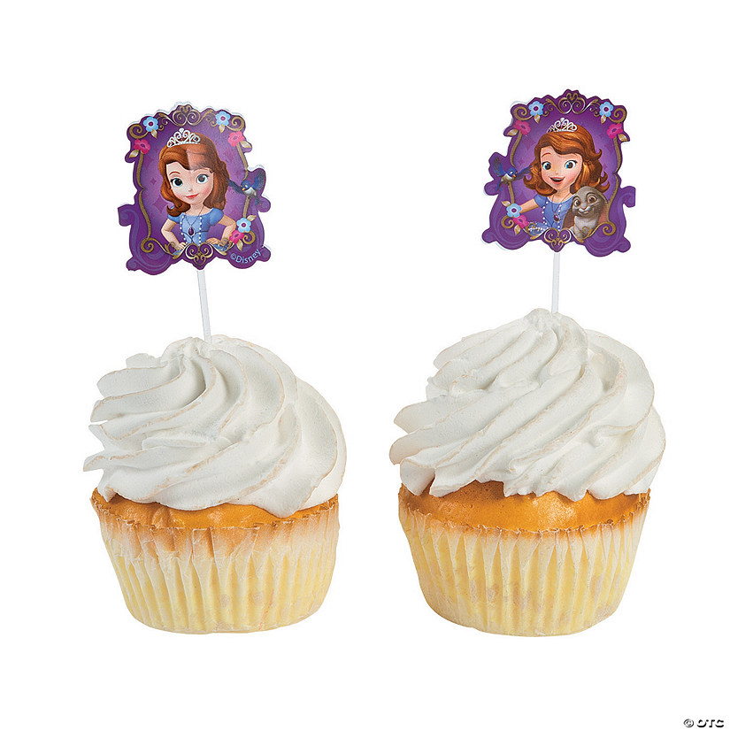 Sofia the First Cupcake Picks