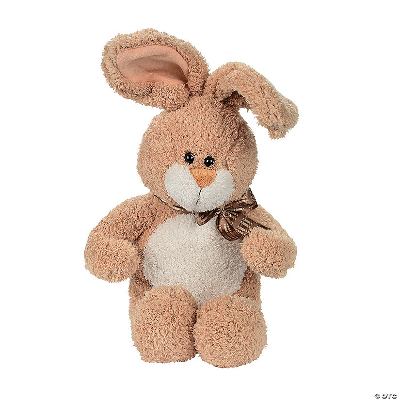 Soft Brown Stuffed Bunny Image Thumbnail