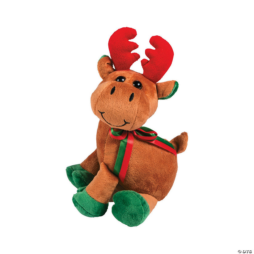 Softy Stuffed Reindeer Image Thumbnail