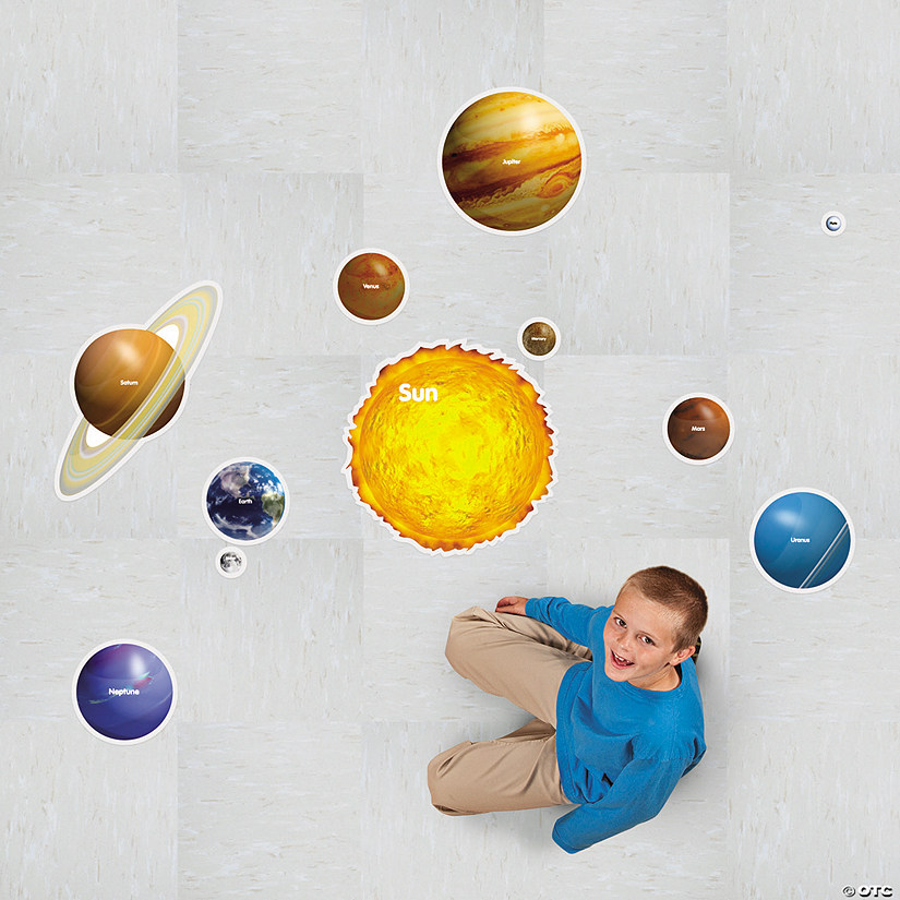 Solar System Floor Clings Audio Thumbnail
