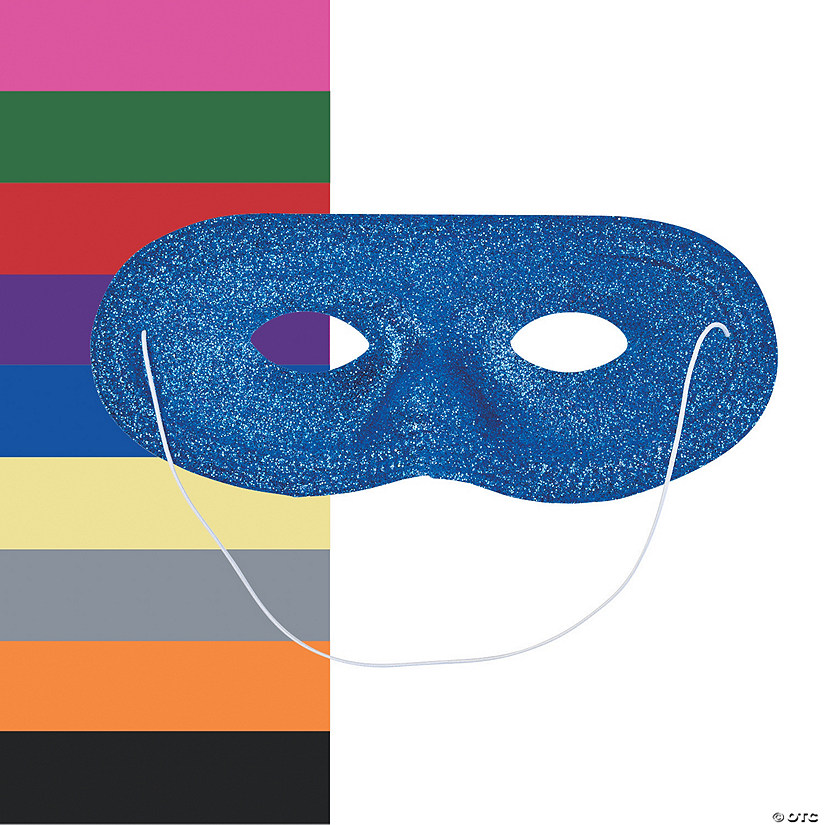 Solid Color Glitter Masks Audio Thumbnail