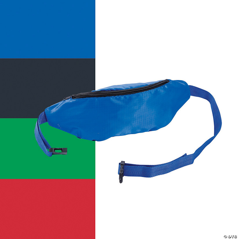 Solid Color Team Spirit Fanny Packs Image Thumbnail