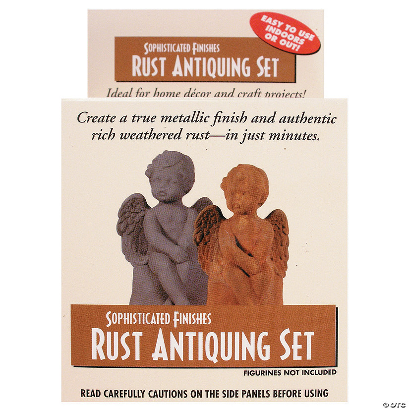 Sophisticated Finishes Rust Antiquing Set