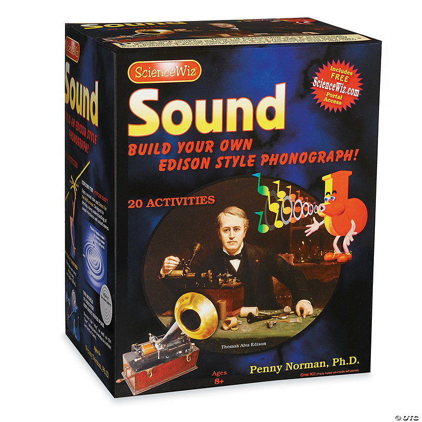 Sound Science Edison Phonograph Kit